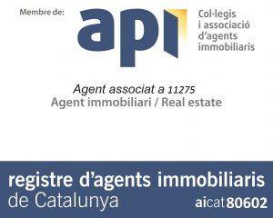 Membre del col-legi d'APIs, Agent API i aicat de LLAR360
